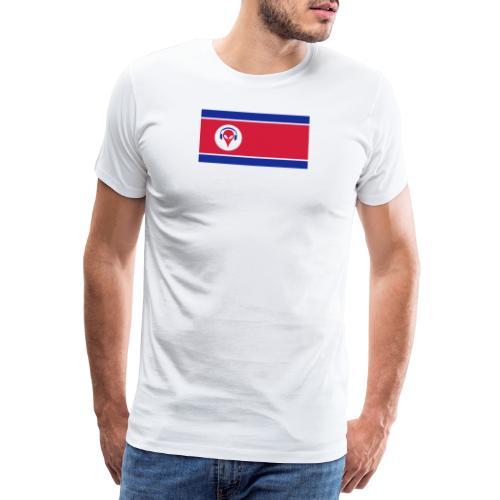 Alien North Korea - Men's Premium T-Shirt