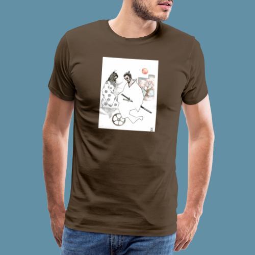 Samurai copia jpg - Maglietta Premium da uomo