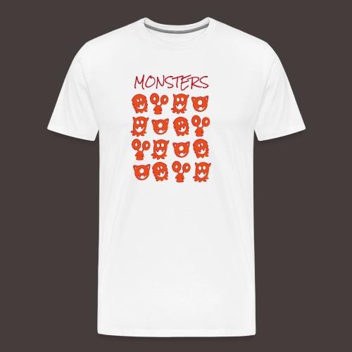 monsters - T-shirt Premium Homme