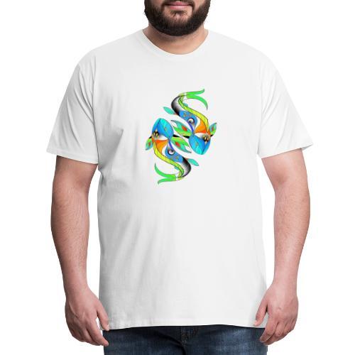 Regenbogenfische - Männer Premium T-Shirt