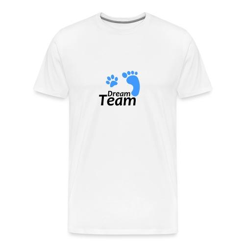 Dream Team blau/schwarz - Männer Premium T-Shirt
