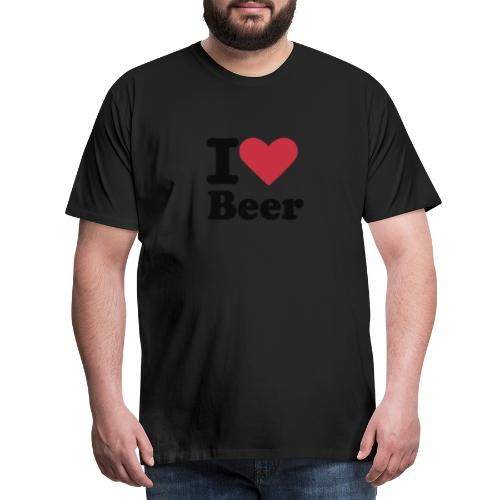 BEER - Miesten premium t-paita