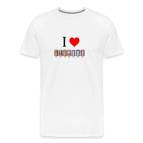 irn bru all png - Men's Premium T-Shirt