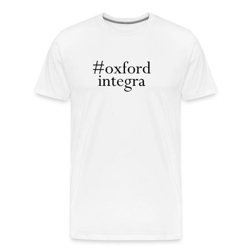 #oxfordintega centred - Men's Premium T-Shirt