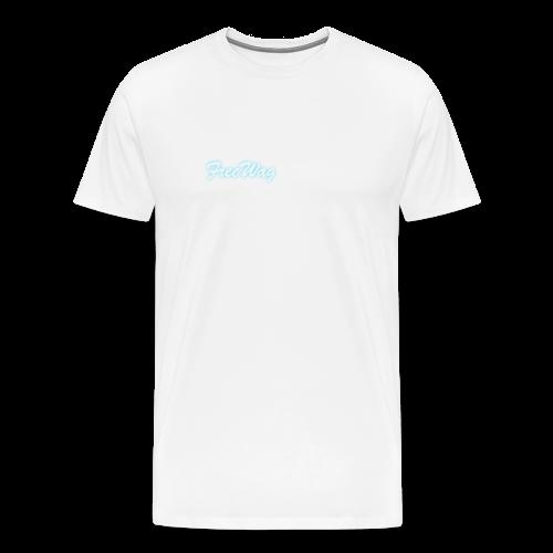 FreeWag Blanc - T-shirt Premium Homme