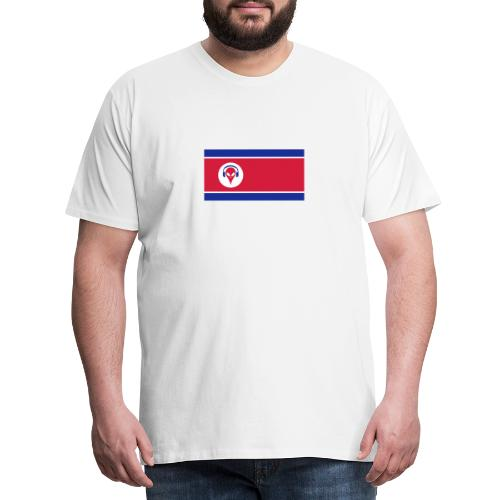 Alien North Korea - Men's Premium T-Shirt