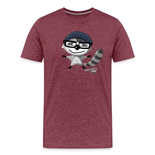 racconys gang nerdy png - Männer Premium T-Shirt