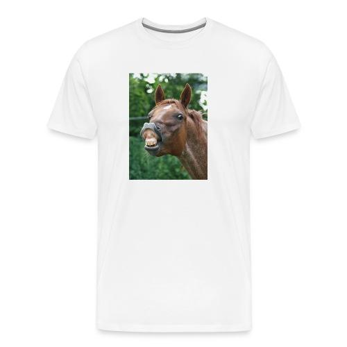 120610 CD Grinsen jpg - Männer Premium T-Shirt
