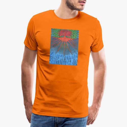 Drzewo Źycia - Koszulka męska Premium