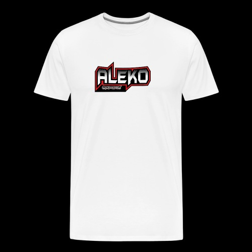 Aleko Gaming Logo text - Männer Premium T-Shirt