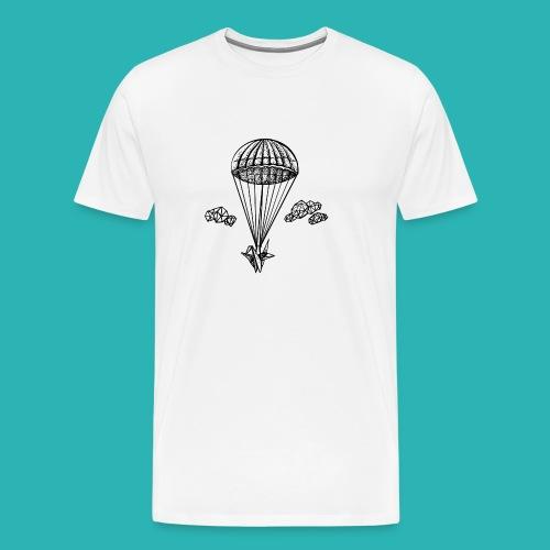 Veleggiare_o_precipitare-png - Maglietta Premium da uomo