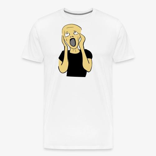 HUUTAJA - Miesten premium t-paita