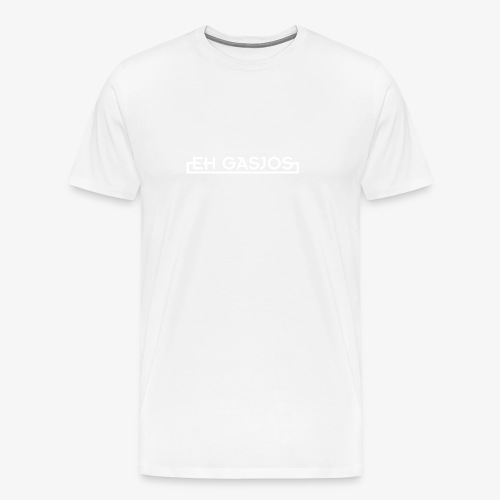 EH GASJOS WIT - Mannen Premium T-shirt