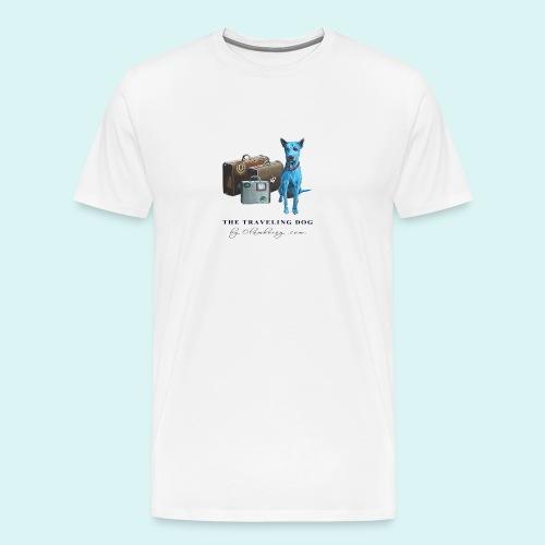 Laly Blue Big - Men's Premium T-Shirt
