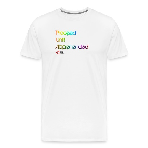 PUA Hue WGA png - Men's Premium T-Shirt