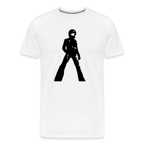 violence for kicks - Men's Premium T-Shirt