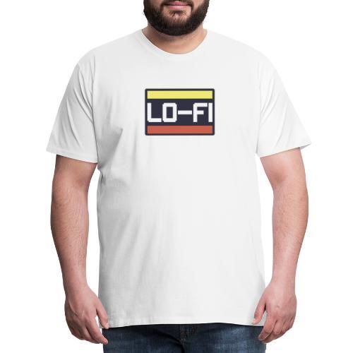 lo fi cuadro - Camiseta premium hombre