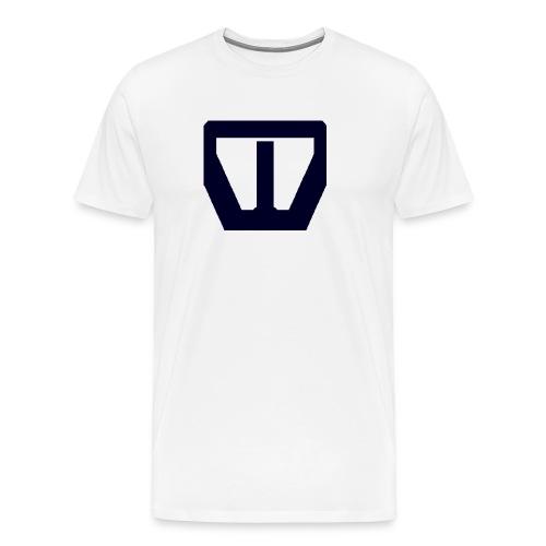 oie transparent navy groot png - Mannen Premium T-shirt