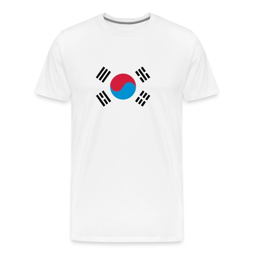 South Korea - Mannen Premium T-shirt