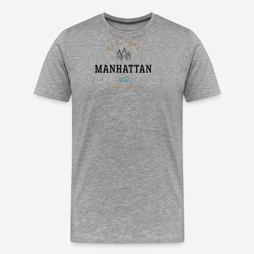 NEW YORK - MANHATTAN - Maglietta Premium da uomo
