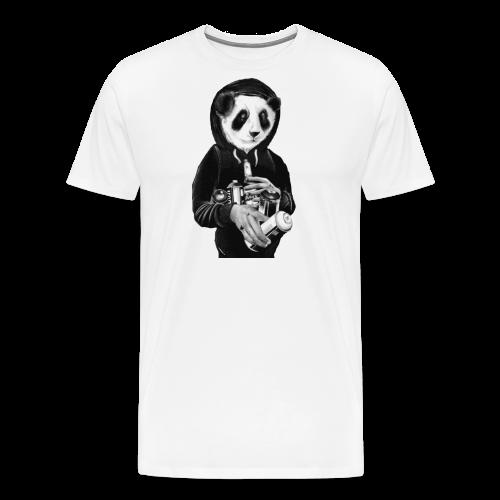 pandit graffiti bear - Mannen Premium T-shirt