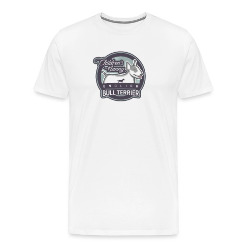 English Bull Terrier Children´s Nanny - Männer Premium T-Shirt