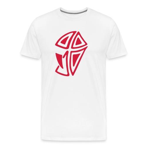 Mini Logo I - Männer Premium T-Shirt