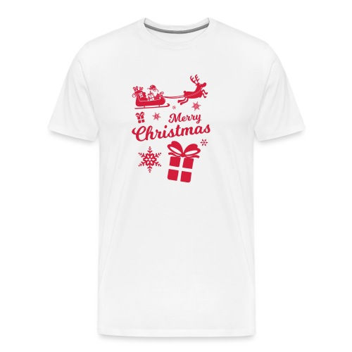merry_christmas_3 - T-shirt Premium Homme