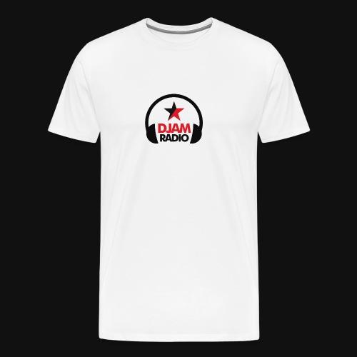 logo djamradio 2016 HD png - T-shirt Premium Homme