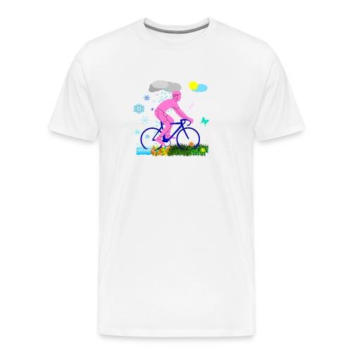 Allwetterfahrer - Männer Premium T-Shirt