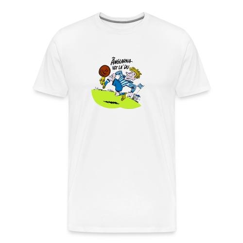 Änglarna vet la du! - Premium-T-shirt herr