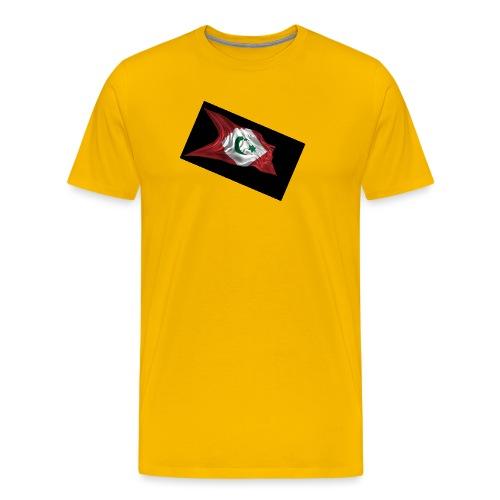 rif flag drapeau du rif de 1921 au 1927 Tamazgha.. - Mannen Premium T-shirt