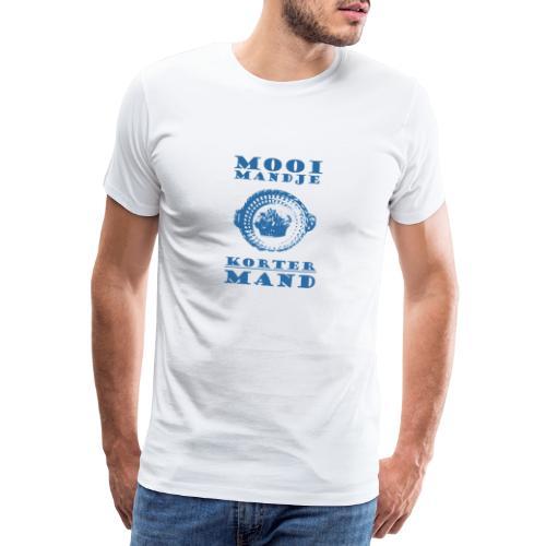Maxims Mooi Mandje Korter Mand - Gekkies Shirt - Mannen Premium T-shirt