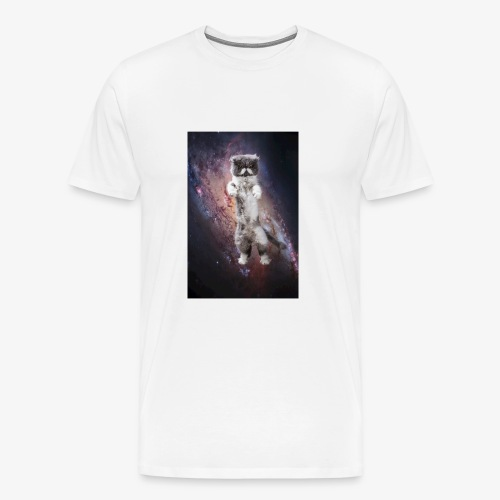 Karl Katzmonauten Catsinspace Weltraumkatze - Männer Premium T-Shirt