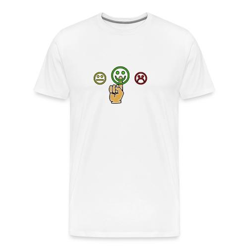 optimismo - Camiseta premium hombre