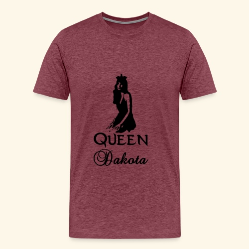 Queen Dakota - Men's Premium T-Shirt
