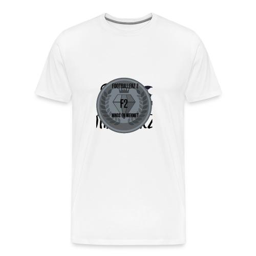 F2FOOTBALLERZ Z youtube kanaal T shirt - Mannen Premium T-shirt