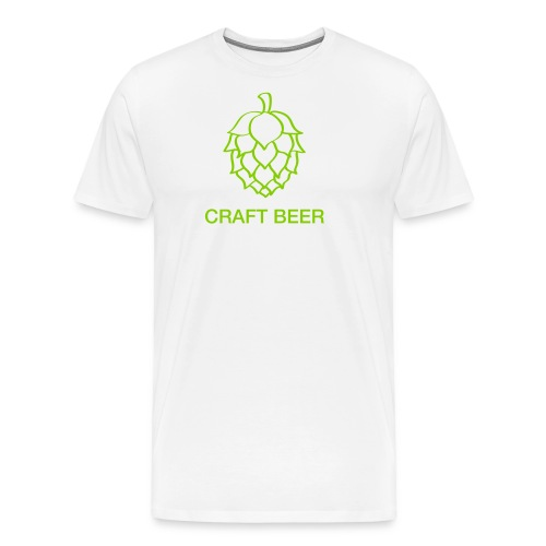 Craft beer - Premium-T-shirt herr