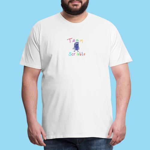 Team Scribble - Men's Premium T-Shirt