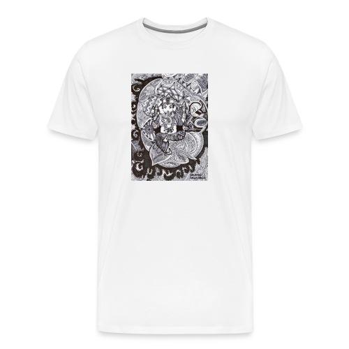 Psychedelic Ganesha - Maglietta Premium da uomo