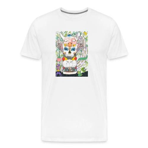 Totem - Maglietta Premium da uomo