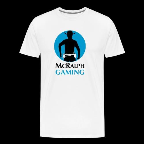 McRalph Gaming Logo 2 Bl - Männer Premium T-Shirt