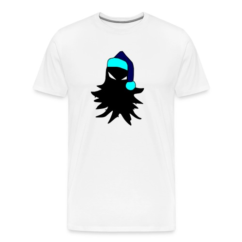 tricolored - Miesten premium t-paita