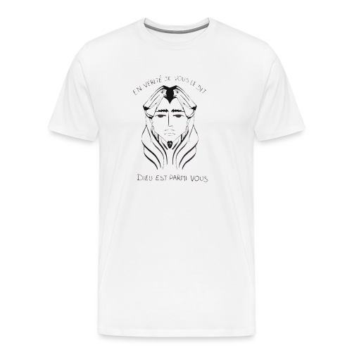 En vérité en vérité - T-shirt Premium Homme