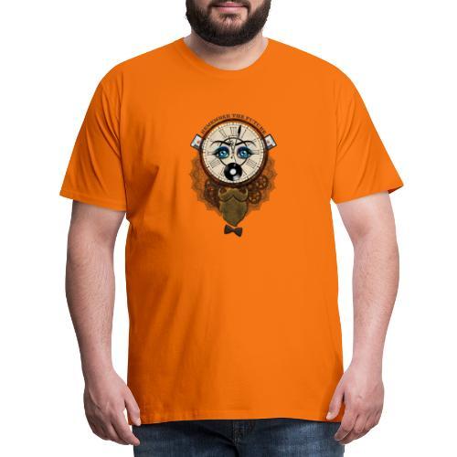 Remember the futur 'pour couleur claire' - T-shirt Premium Homme