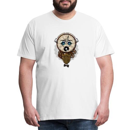 Remember the Futur 'pour couleur Foncée' - T-shirt Premium Homme