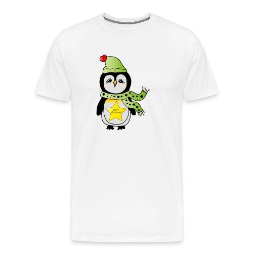 Christmas Pinguin - Männer Premium T-Shirt