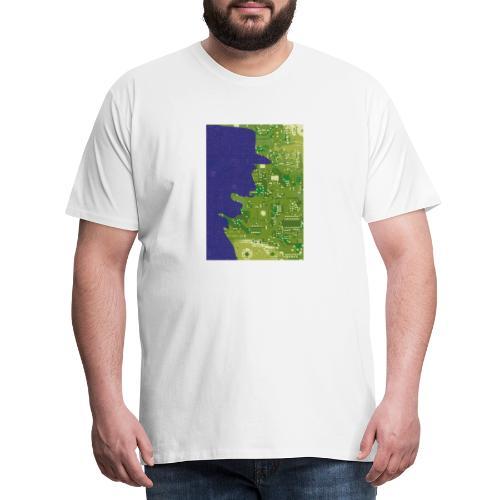 Rinus Van De Melkwegboer - Mannen Premium T-shirt