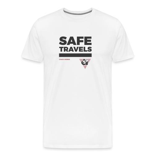 SAFE TRAVELS - CHUCK WORRIS - - Männer Premium T-Shirt