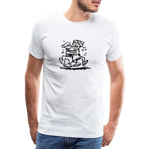 Dansparet - Premium-T-shirt herr